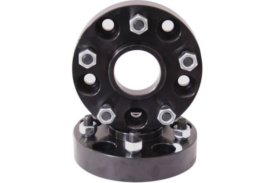 Rugged Ridge Wheel Spacer Kit 5x5 1.5in - JK/WK