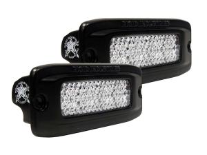 Rigid Industries SR-Q Series Back Up Light Kit Flush Mount Diffused (Part Number: )
