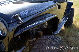Poison Spyder Narrow Width Crusher Flares Front Aluminum (Part Number: )