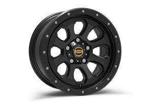 Warn Moonsault Wheel, 17x8.5, 5x5 - Black - JT/JL/JK