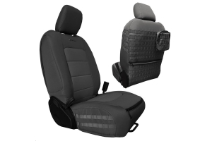 Bartact Tactical Front Seat Covers Graphite/Graphite (Part Number: )