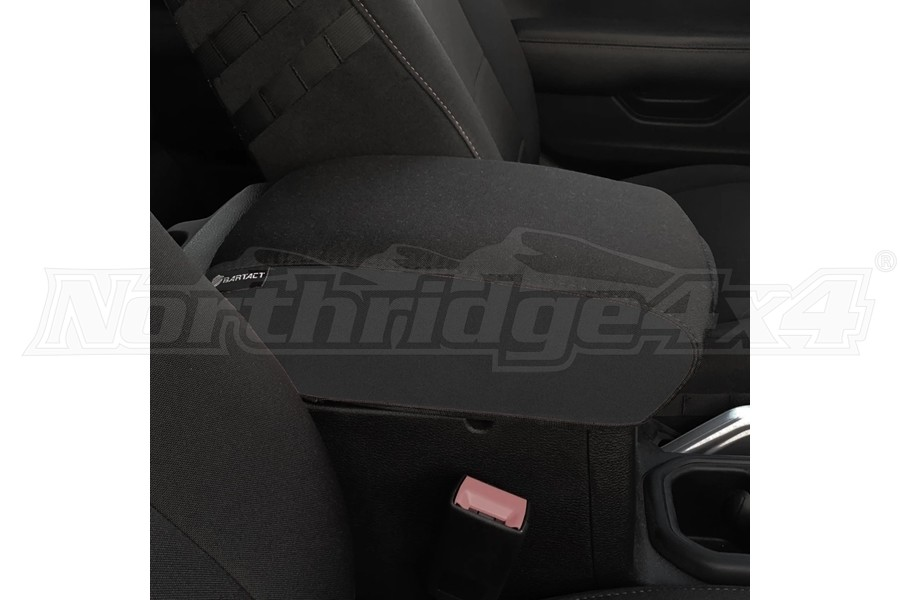 Bartact Padded Center Console Cover - Black/Black - JL