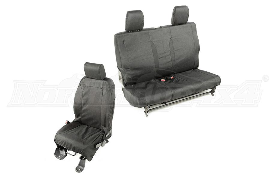 Rugged Ridge Elite Ballistic Seat Cover Set (Part Number:13256.01)