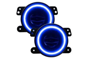 Oracle High Performance 20W LED Fog Lights - Blue - JT/JL/JK Sahara/Overland Rubicon Models
