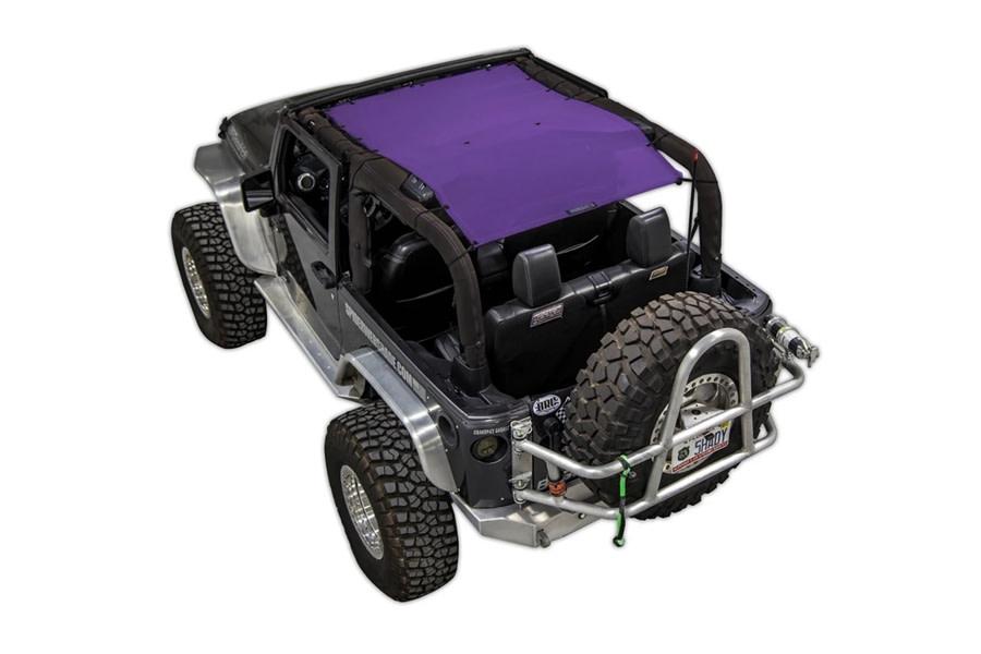SpiderWebShade 1-Piece Shade Top - Purple - JK 2Dr
