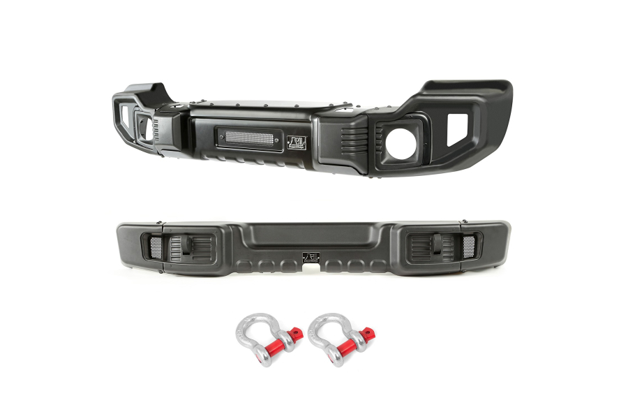 Rugged Ridge Spartacus Front and Rear Bumper Set (Part Number:11544.60)
