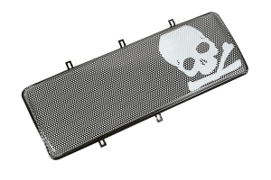 Rugged Ridge Spartan Grille Insert, Skull (Part Number: )