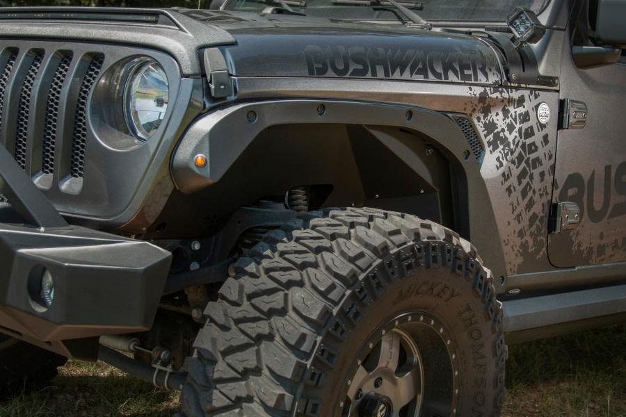 Bushwacker Trail Armor Fender Delete Kit - JL