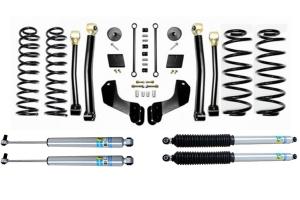 Evo Manufacturing 2.5in Enforcer Overland Stage 3 Lift Kit w/ Bilstein Shocks - JL