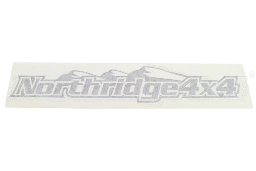 Northridge4x4 Sticker Black 18in