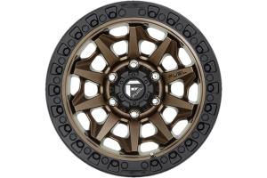 Fuel Offroad D696 Covert Series Wheel, 17x9 5x5 - Matte Bronze  - JT/JL/JK
