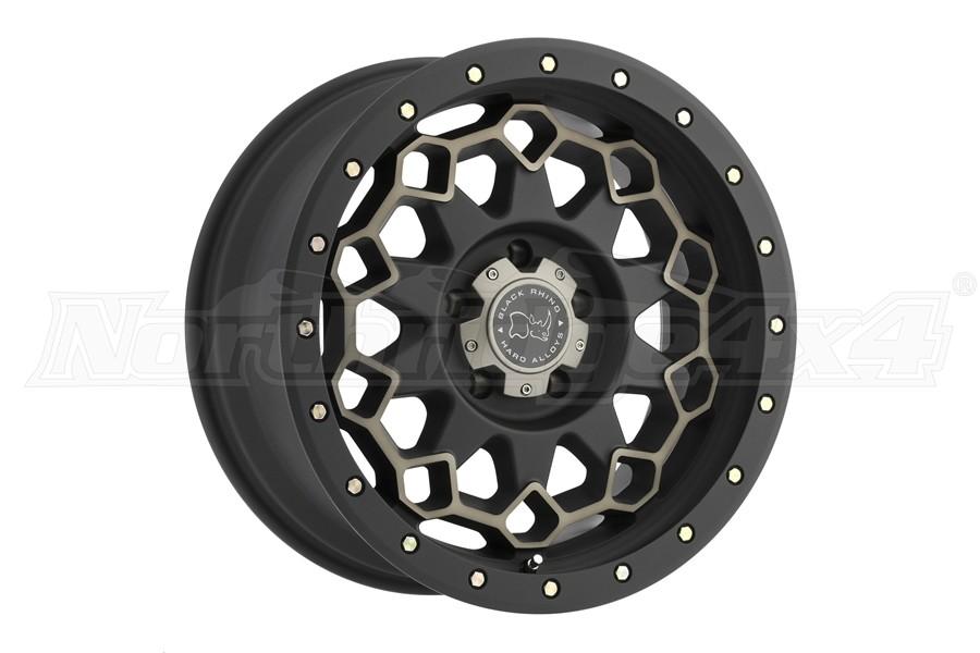 Black Rhino Diamante Wheel 17x9 5x5 Matte Black (Part Number:1790DMN-25127M71)