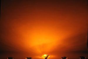 Off Road Only LiteSPOT Puddle Light Kit - Amber