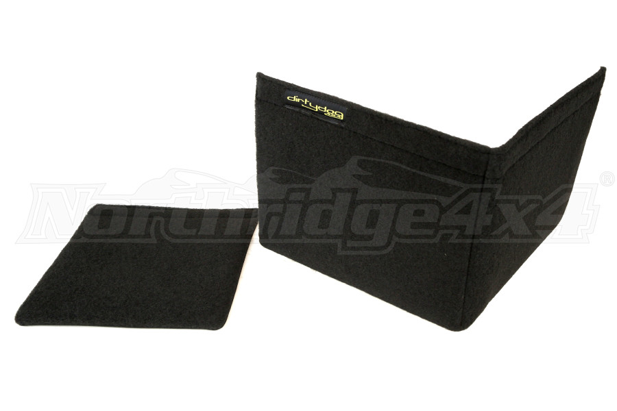 Dirty Dog 4x4 Trench Cover Black - JK 4dr