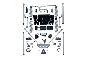 Rubicon Express 4.5in Extreme Duty Long Arm Lift Kit w/Rear Tri-Link No Shocks - TJ 1997-2002