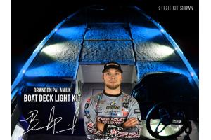 Rigid Industries Brandon Palaniuk A-Series Deck Light Kit Cool White/Blue (Part Number: )