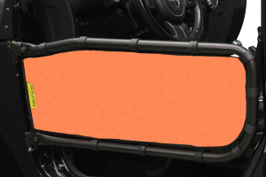Dirty Dog 4x4 Olympic Front Tube Door Screen, Orange - JK 2DR