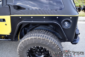 Poison Spyder Crusher Corners w/ 3in DeFender Flares Aluminum  - TJ