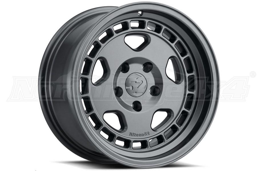 Fifteen52 Turbomac HD Classic Series Wheel, Carbon Grey 17X8.5 5x5 - JT/JL/JK