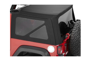 Bestop SuperTop NX Soft Top Replacement Tinted Window Kit Black Twill - JK 2Dr 2010+
