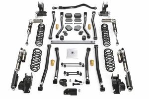 Teraflex Alpine CT4 4.5in Long Arm Lift Kit - w/Falcon SP2 3.1 Shocks - JL 4dr