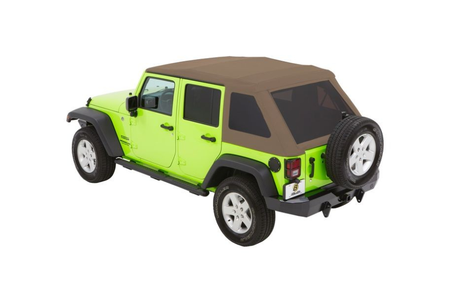 Bestop Trektop NX Plus Soft Top Tan Twill - JK 4Dr