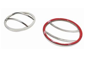 Kentrol Front Marker Cover Set - Polished Silver  - JK