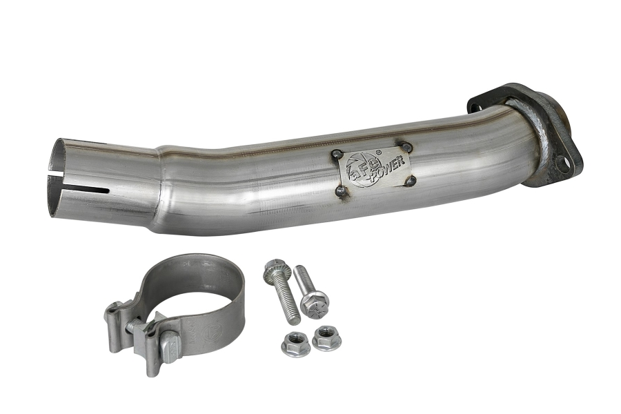 AFE Power 2.5in Twisted Loop Delete Down-Pipe  (Part Number:48-48024)