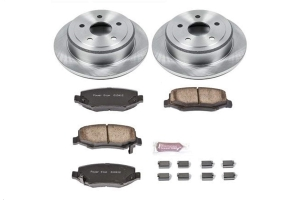Power Stop Autospecialty OE Replacement Brake Kit, Rear (Part Number: )