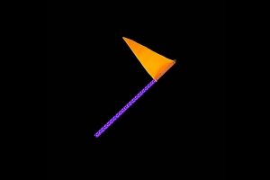 Quake LED 2ft RGB Accent LED Whip Light - Single