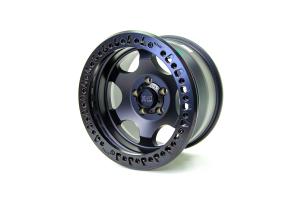 XD Series Wheels XD232 Satin Black Beadlock Wheel, 17X9 5x5 - JT/JL/JK