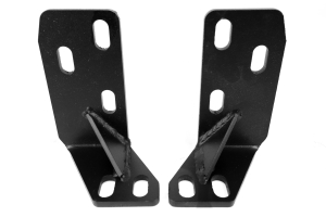 LOD Xpedition Series Frame Tie-In Brackets Black Powder Coated - TJ/LJ