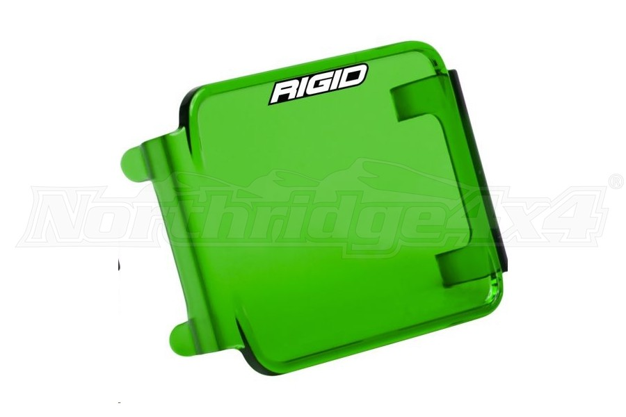 Rigid Industries D-Series Light Cover Green (Part Number:201973)
