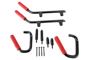 WD Automotive Front and Rear Grabars Red ( Part Number: 1005R)