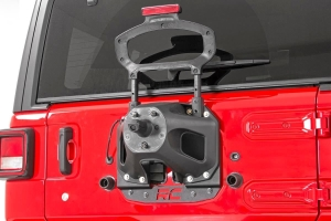 Rough Country Spare Tire Relocation Plate  - JL w/Proximity Sensors