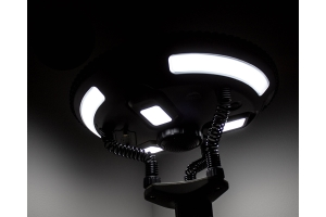 Overland Vehicle Systems UFO Solar Light w/ Light Pods and Speaker