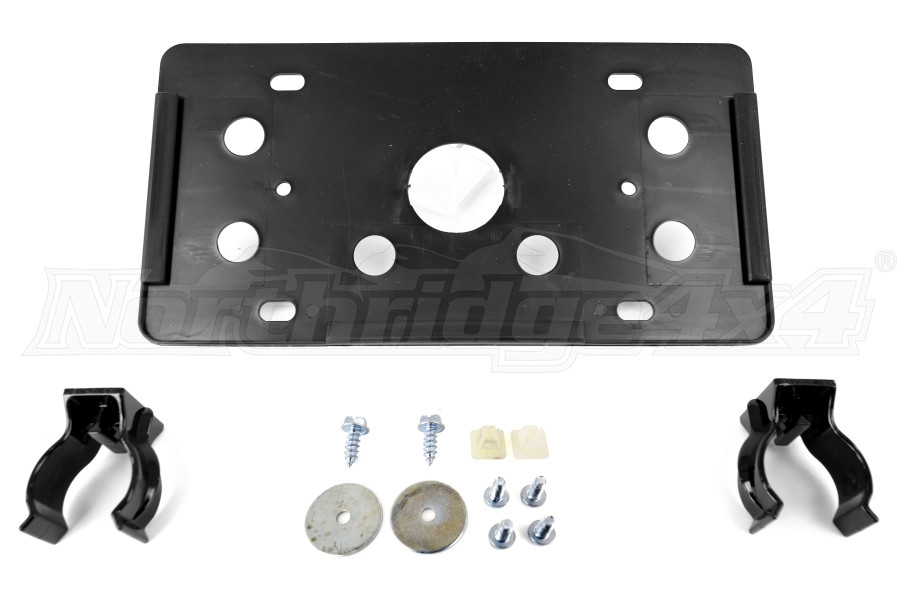 AEV Roller Fairlead License Plate Mounting Kit (Part Number:10404004AA)