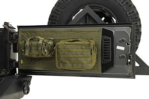 Smittybilt G.E.A.R. Tailgate Cover OD Green (Part Number: )