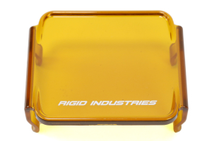 Rigid Industries Protective Dually D2 Cover Amber ( Part Number: 201933)