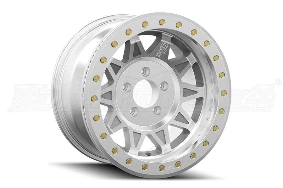 Wheel-1 Dirty Life Roadkill Race Series Machined Beadlock Wheel 17X9, 5x5 - JT/JL/JK