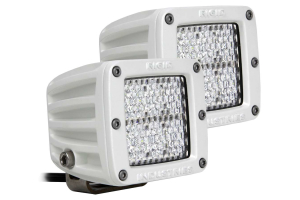 Rigid Industries M-Series Dually D2 LED Lights Diffused, Pair (Part Number: )