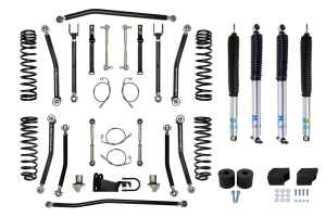 Rock Krawler 1 1/2in X-Factor Lift Kit, Package w/ Shocks, JK4DR ( Part Number: JK15XF-4KIT)