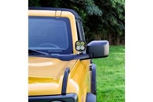 Motobilt A-Pillar LED Light Mount  - Ford Bronco