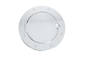 Rugged Ridge Non-Locking Polished Stainless Steel Gas Cap Door ( Part Number: 11134.02)