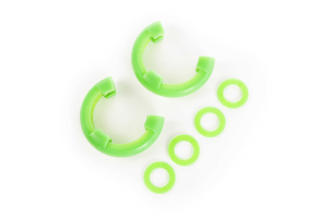Rugged Ridge 7/8-inch D-ring Shackle Isolator Kit Green (Part Number: )