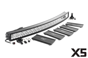 Rough Country 52in Dual Row X5 Series Curved Light Bar (Part Number: )