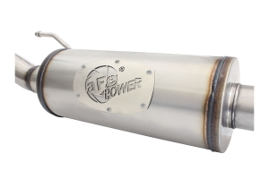 AFE Power Mach Force-XP 2.5in Cat-Back Exhaust System w/ 14in Muffler - JK