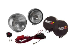 Rugged Ridge HID Fog Light Kit 6in Black (Part Number: )