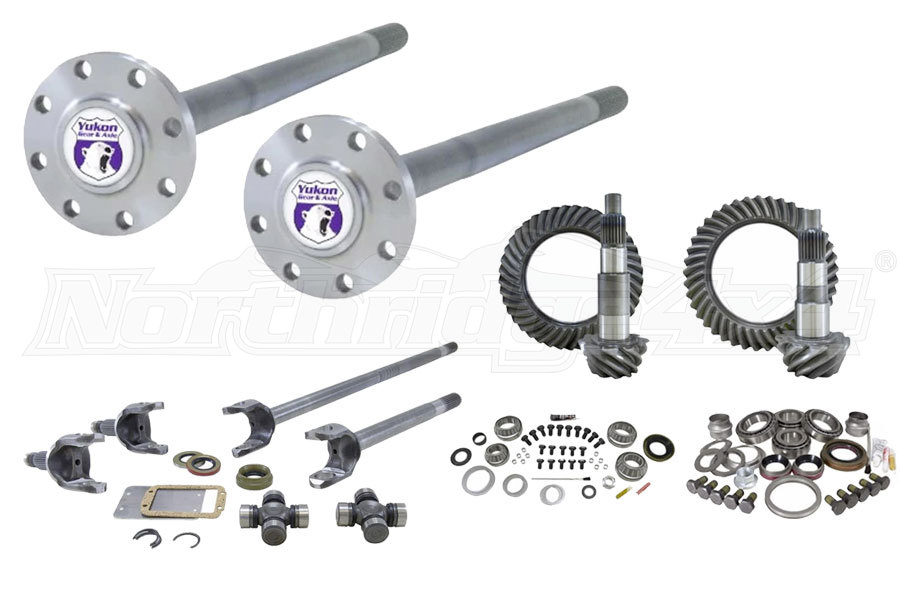Yukon Gears and Front and Rear Axle Kits - JK Rubicon