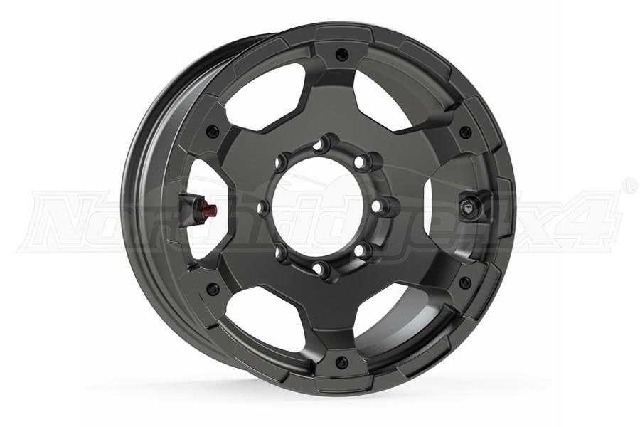 Teraflex Base Nomad Titanium Gray Wheel - 17x8.5 8x6.5